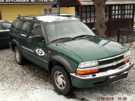 Chevrolet Blazer Rv 2000 Prodej Bazar Autonoto