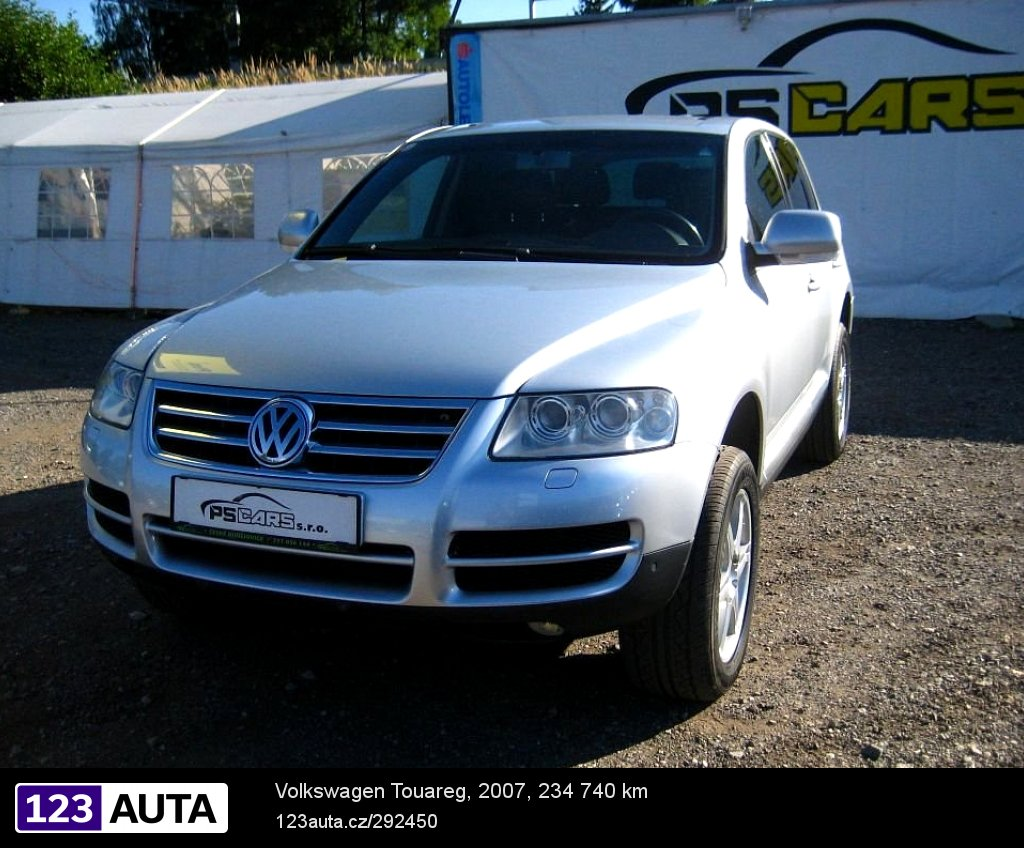 volkswagen touareg r v 2007 prodej bazar. Black Bedroom Furniture Sets. Home Design Ideas